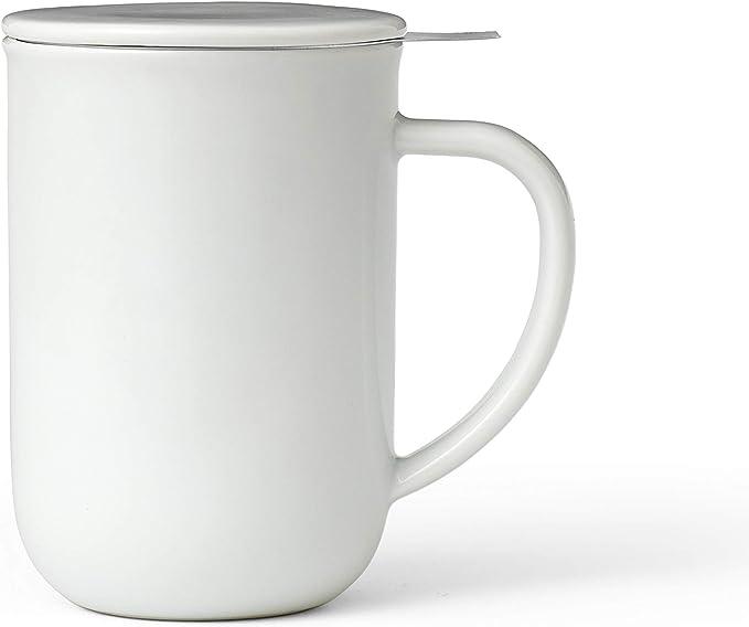 Tasse /à caf/é en Porcelaine avec poign/ée Isolante Vert Robuste 350 ML Viva Scandinavia Lot de 2 Tasses th/é