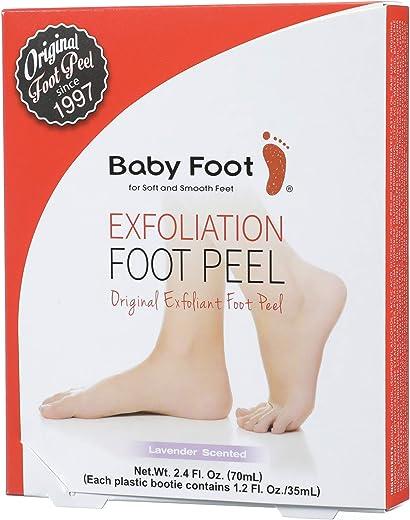 Baby Foot – Original Exfoliation Foot Peel – 1 Hour Treatment – Lavender Scented Pair