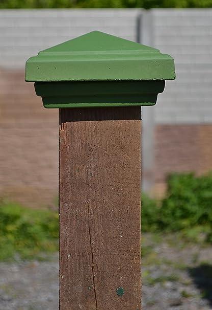 Plastic molds for  concrete  cap Fence Cover Pillar   for garden Plaster Stone T