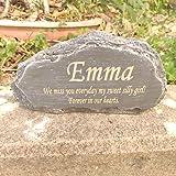 Goldfish Memorial Stone Personalized