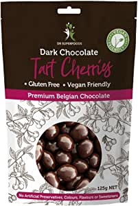 Dr Superfoods Cherry Bombs Coated Tart Cherries Dark Chocolate, 1 Count