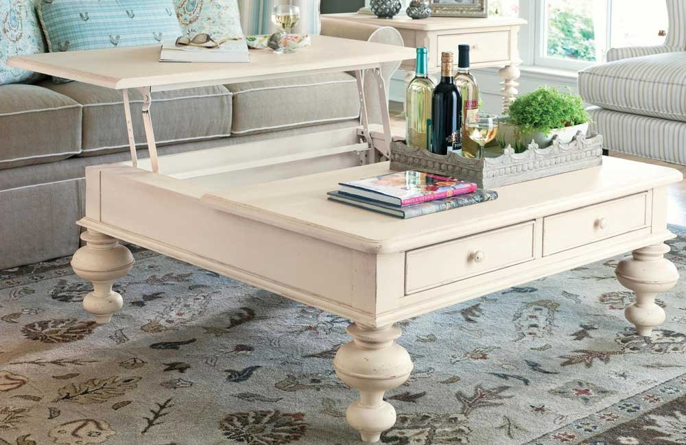Wonderful Amazon.com: Paula Deen Home Put Your Feet Up Table, Linen: Kitchen U0026 Dining