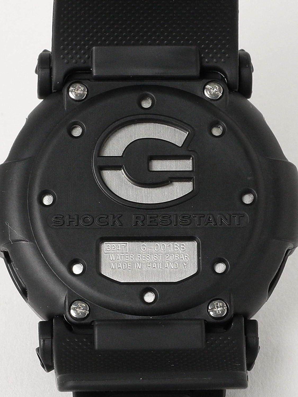 1852ee09a8 Amazon   (ビームスボーイ) BEAMS BOY G-SHOCK (ジーショック)/ 時計 DW-001BB free ブラック レディース  メンズ   メンズ腕時計   腕時計 通販
