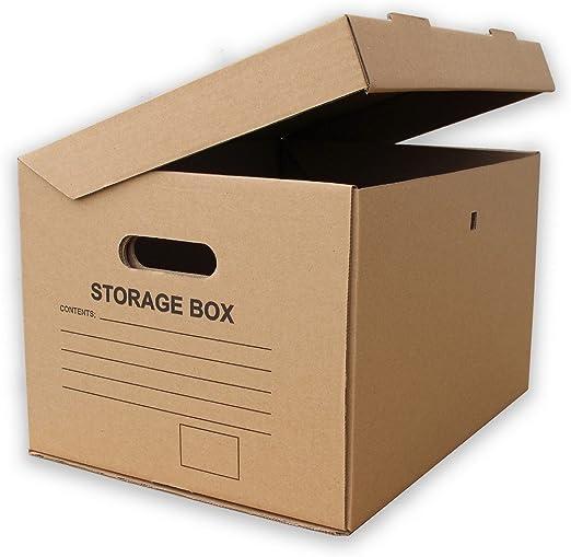 Archivador Archivo de cartón Cajas de almacenaje – 15