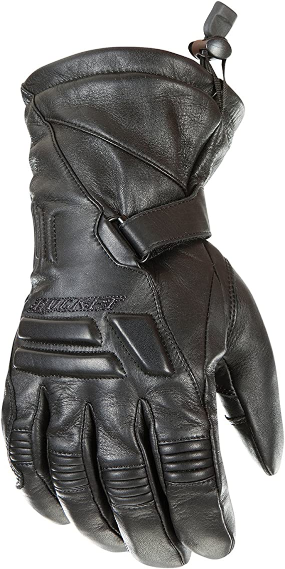 Joe Rocket Wind Chill Men's Cold Weather Motorcycle Riding Gloves (Black