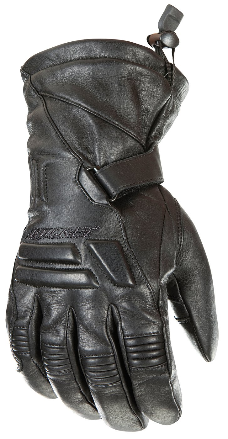 Joe Rocket Wind Chill Men's Cold Weather Motorcycle Riding Gloves (Black, XX-Large)