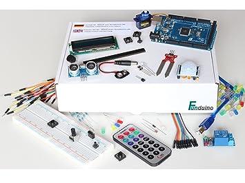 "Conjunto de aprendizaje para Arduino - ""Mega 5 + Box"" MEGA2560 R3 con"