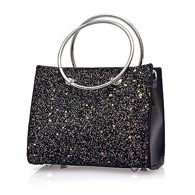 60d559a7c9 Sale Clearance Women Handbag Halijack 2Pcs Girls Female Fashion Bling  Sequins Zipper Handbag Shopping Shoulder Bag