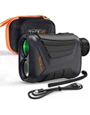 TACKLIFE Range Finder, MLR01 875Yard/800M Golf Range Finder, Hunting Range Finder USB Recharge with Continuous Scan, 7X Magnification and Speed Measurement 3km/h, IP54 Waterproof