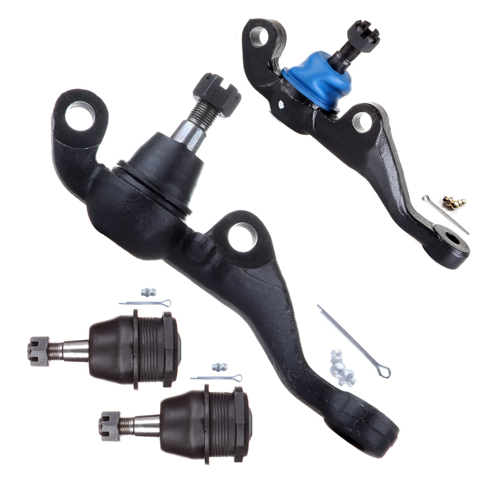 ECCPP Front Upper Lower Ball Joints Complete Kit for 1970-1974 Dodge Challenger (4Pcs)