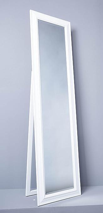 Standspiegel Spiegel Ankleidespiegel 170 x 45 cm weiß Antik Stil ...
