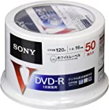 SONY 録画用DVD-R  CPRM対応 120分 16倍速 50枚パック 50DMR12MLPP