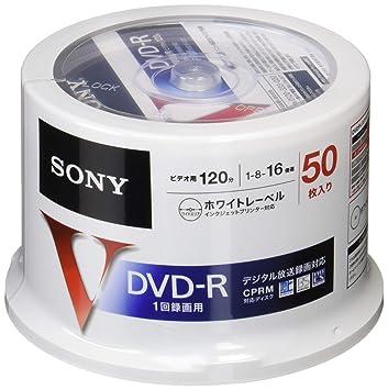 Amazon | SONY 録画用DVD-R CPRM...