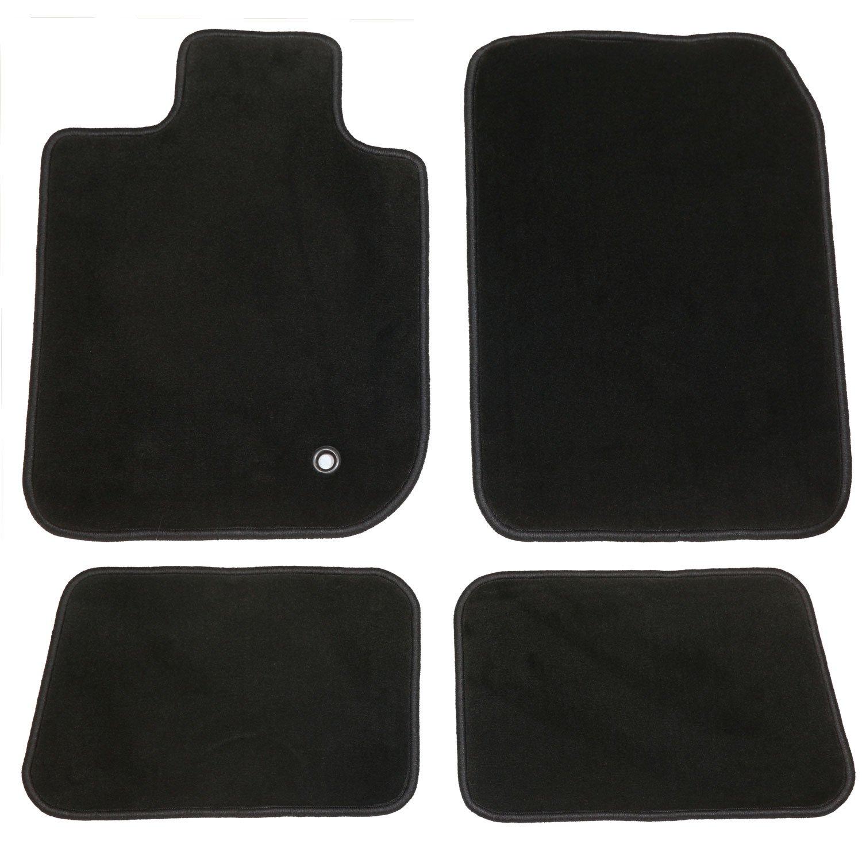 Nylon Fiber Black GG Bailey D4490A-S2A-BLK Two Row Set Custom Fit Floor Mats for Select Toyota Avalon Models