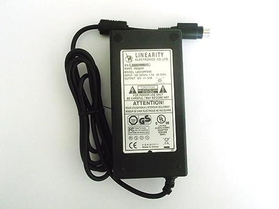 LINEARITY LAD10PFKB6 POWER SUPPLY ADAPTER 12V 6 0A 4: Amazon