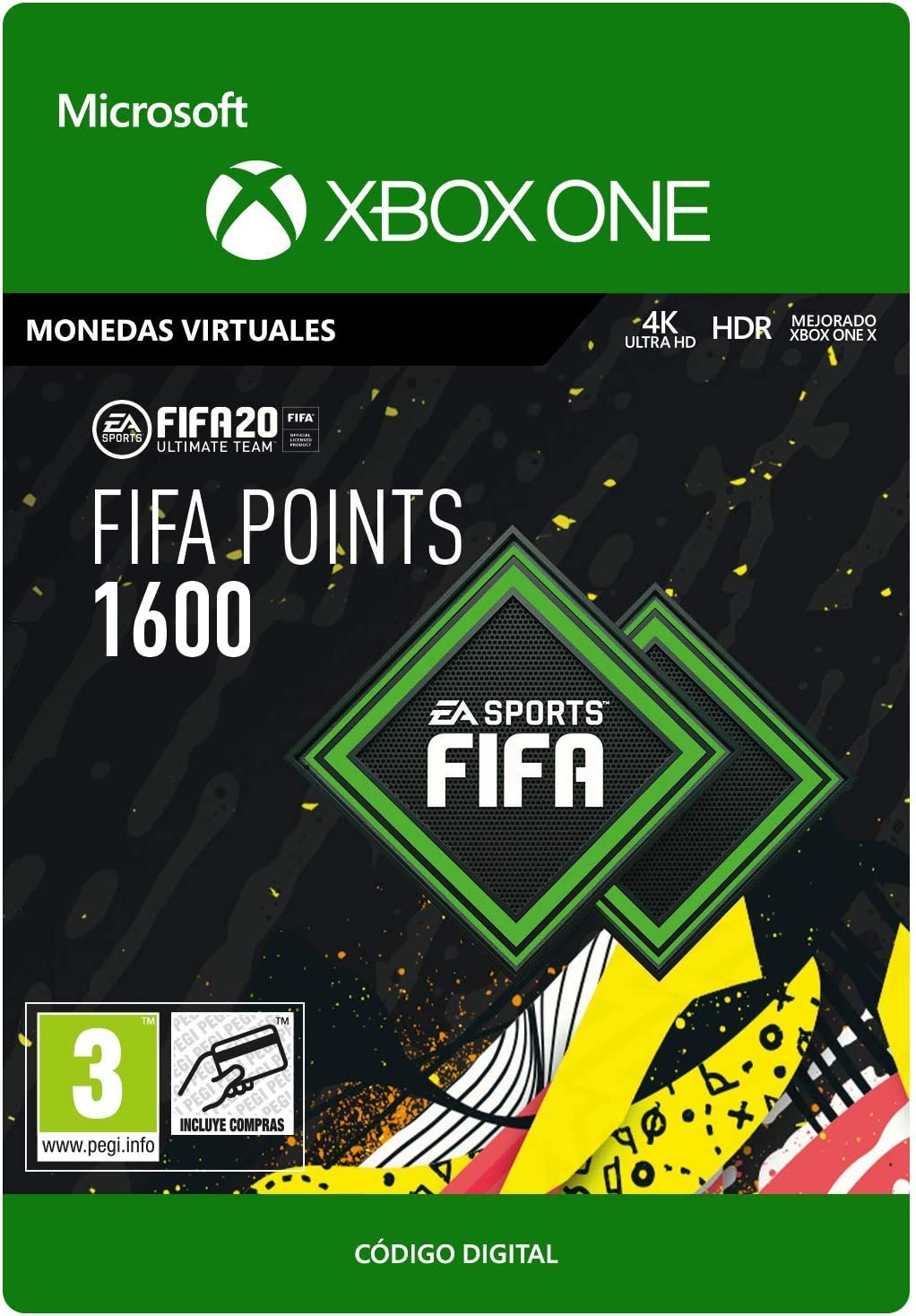 FIFA 20 Ultimate Team - 2200 FIFA Points - Xbox One - Código de ...