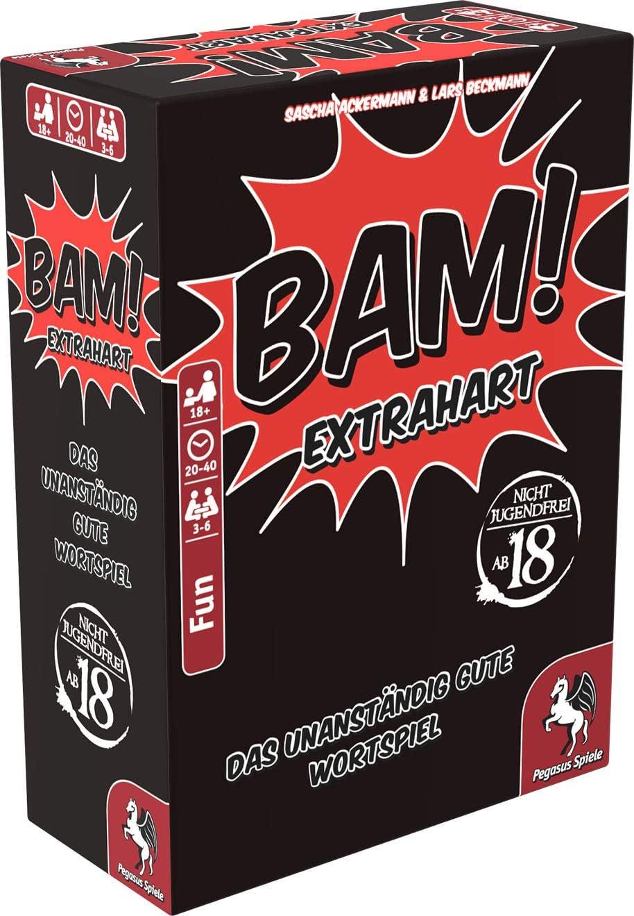 Pegasus Spiele BAM! - Extrahart: Amazon.de: Spielzeug -