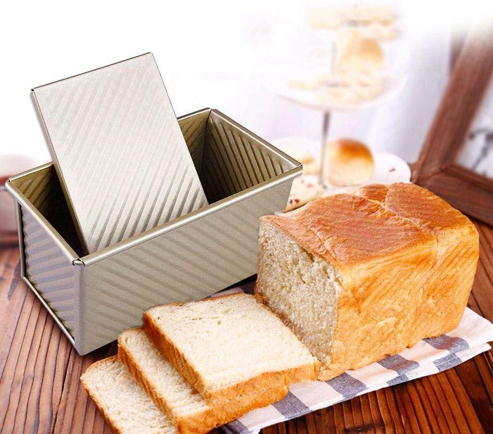 Molde de pastel de pan rectangular Molde de pan antiadherente Bandeja de horno Bandeja de pan duradera Moldes para hornear Moldes de horno de bricolaje