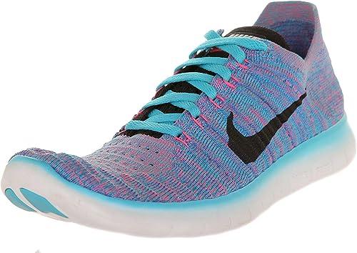De trato fácil Santuario prefacio  Nike Free Rn Flyknit, Women's Running Shoes, White / Black - Pure Platinum,  5 UK (38.5 EU): Amazon.co.uk: Shoes & Bags