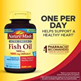 Nature Made Ultra Omega-3 Burpless Fish Oil 1400 mg Softgels w. Omega 3