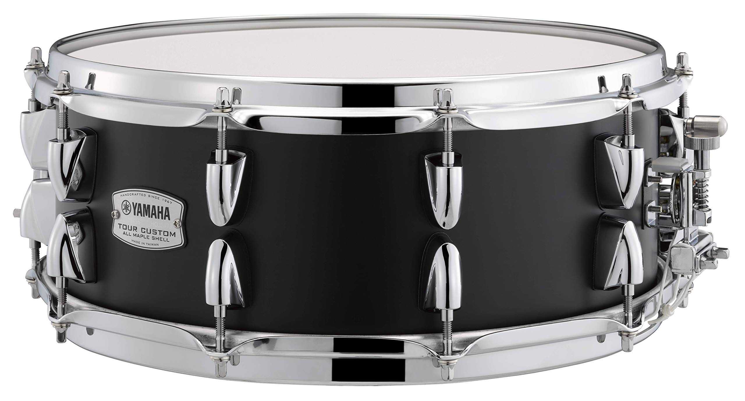 Yamaha Tour Custom Maple 14'' x 5.5'' Snare Drum, Licorice Satin by YAMAHA