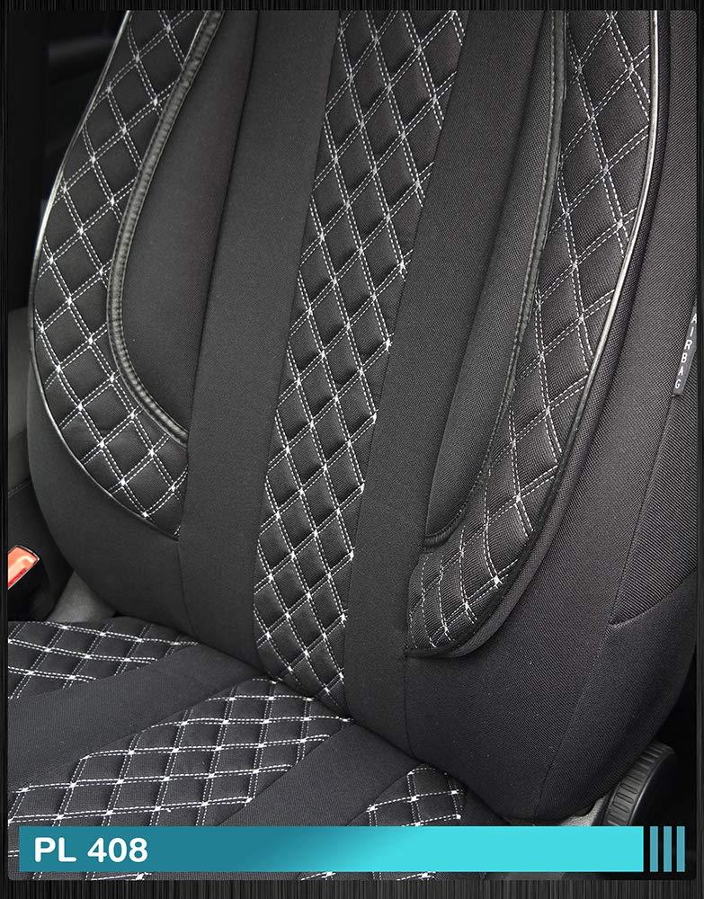 Maß Sitzbezüge Kompatibel Mit Mitsubishi Eclipse Cross Fahrer Beifahrer Ab 2018 Farbnummer Pl408 Baby