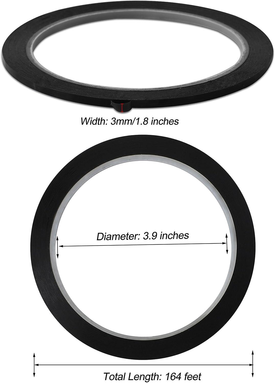 3 mm x 10 m Nero 1901122 Nastro Adesivo per Griglie Nobo