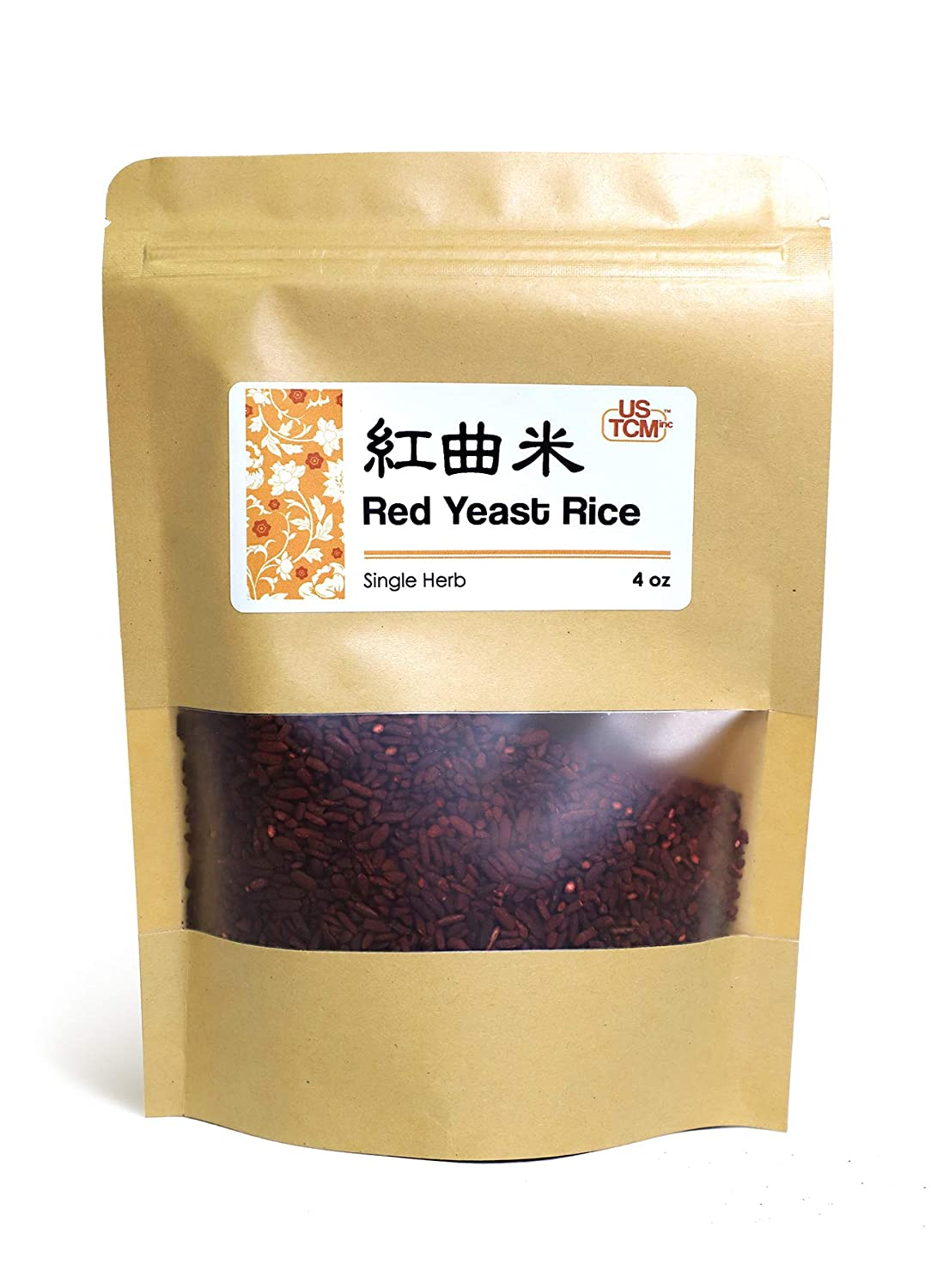 NEW PACKAGING Red Yeast Rice 紅曲米 4 Oz