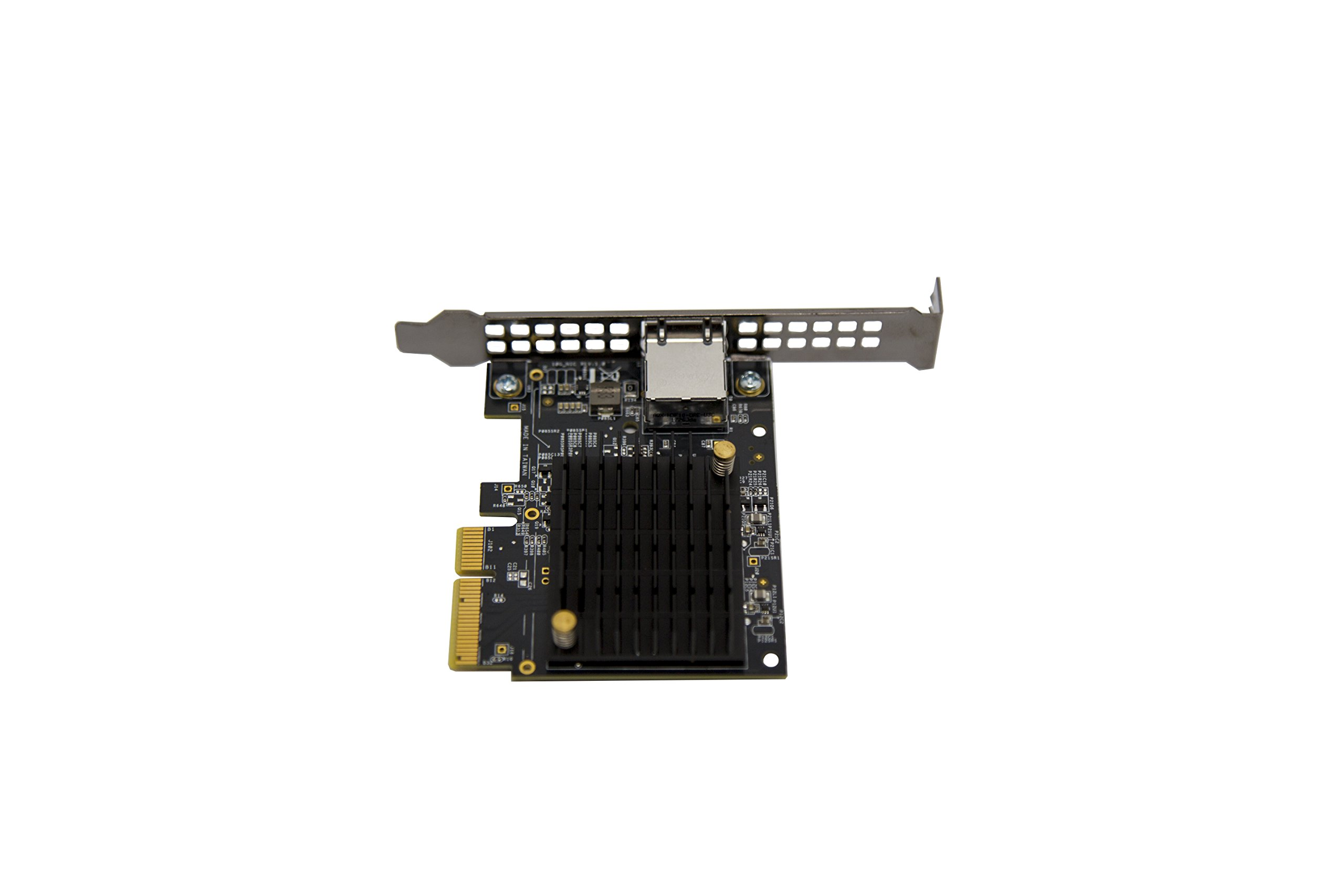 Aquantia AQtion 10G Gaming NIC, 5-Speed Ethernet Network Adapter with PCIe 3.0 and RJ-45 (AQN-107) by Aquantia