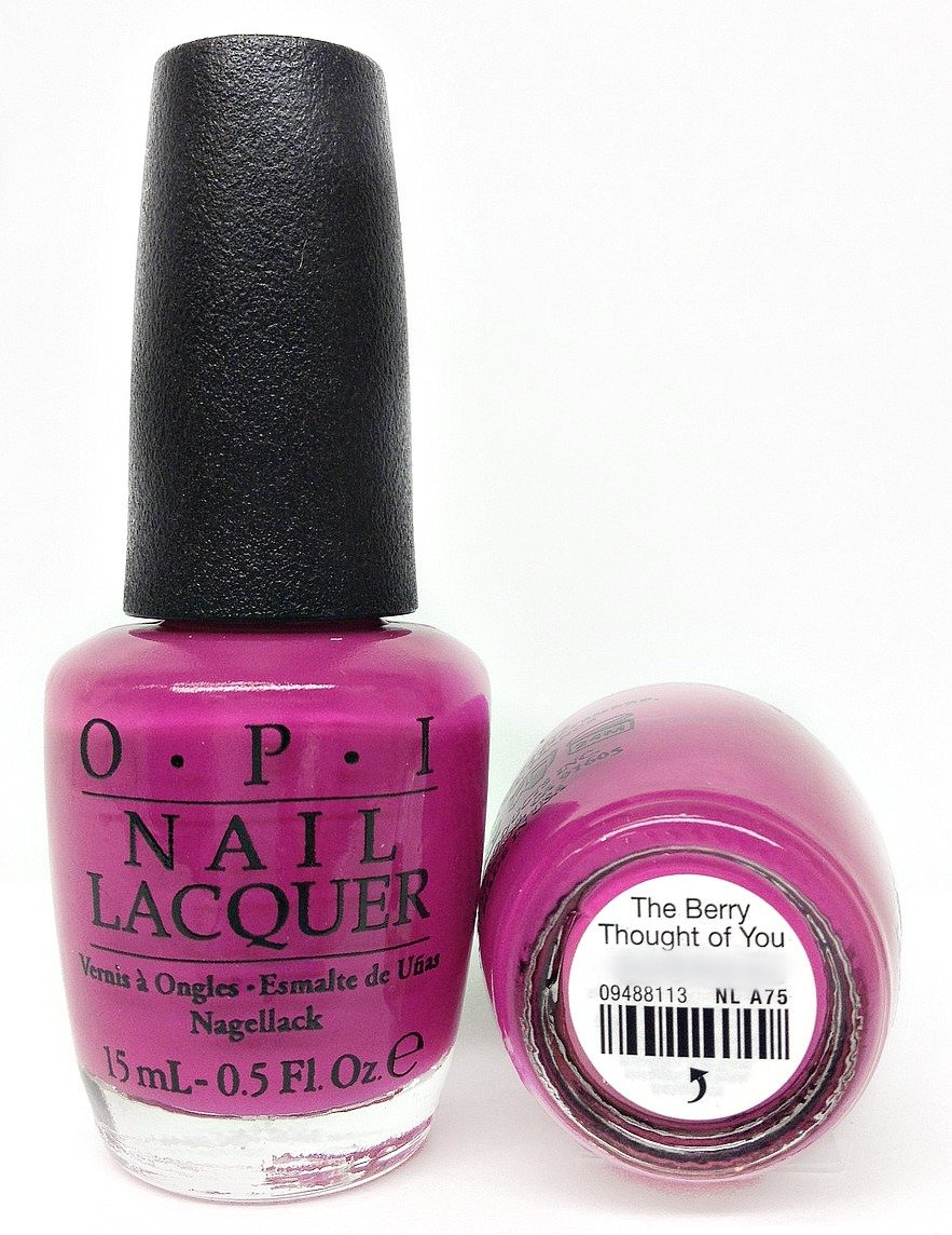 Amazon.com : OPI The Berry Thought of You 0.5 oz : Beauty