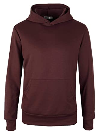 dac72d453ac6 MAJECLO Mens Lightweight Cotton Pullover Long Sleeve Hoodie Sweatshirt(Small