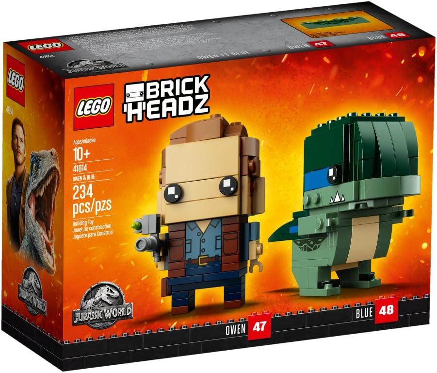 LEGO Brick Headz 41614 Owen & Blue (234 Pieces)