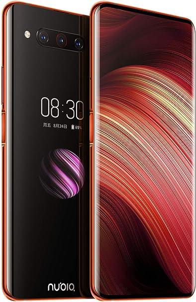 ZTE Nubia Z20 - Pantalla Doble de 6,42 Pulgadas, 128 GB, 8 GB de RAM (gsm Solamente, sin CDMA) Desbloqueado de fábrica - Versión Internacional (Rojo): Amazon.es: Electrónica