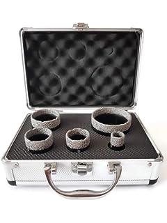 Gut gemocht Diamantbohrkronen Fliesen-Bohrkronen Set 6-teiliges Ø 20, 35, 38 EQ75