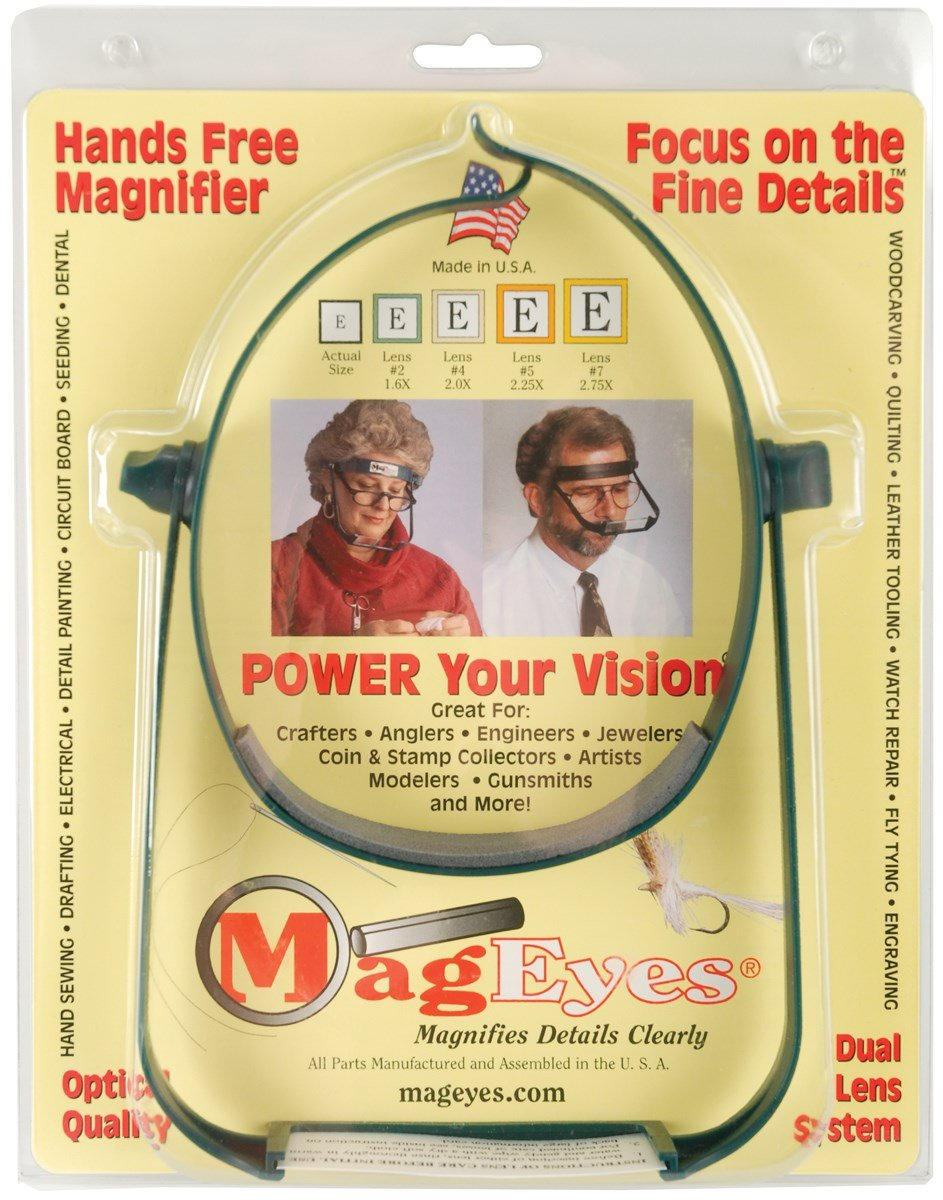 Mag Eyes Magnifier #5 and #7 Lenses