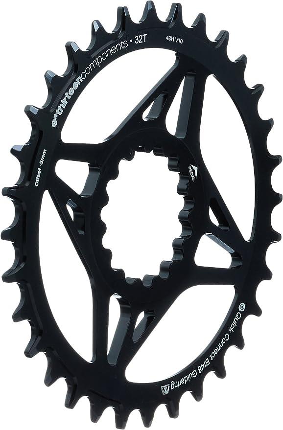 CR2UNA E13-102-Plato de Bicicleta, Color Negro: Amazon.es ...