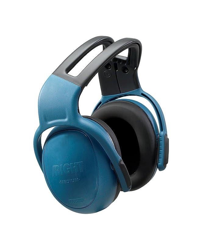 MSA 10087426 Ear Muff,25dB,Headband,Blue