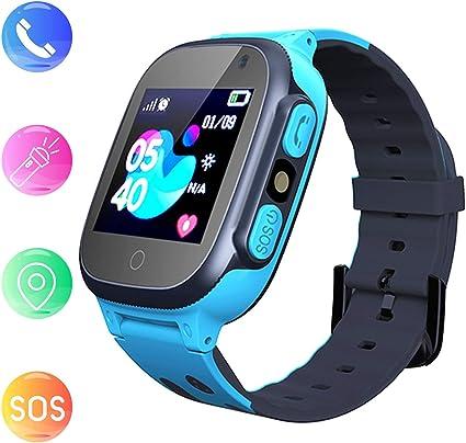 Amazon.com: Reloj inteligente para niños con GPS, tarjeta ...