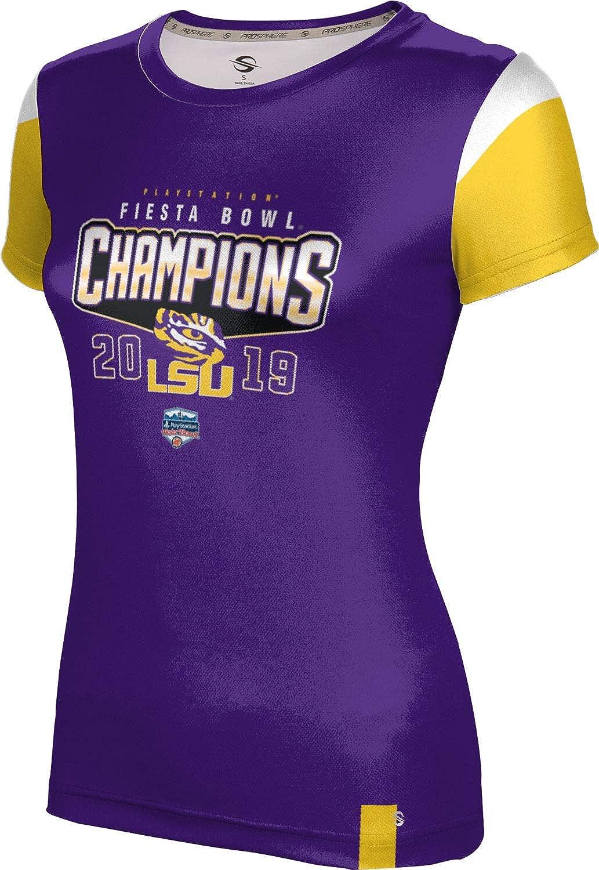 Fiesta Bowl Champions 2019 Louisiana State University Girls Performance T-Shirt Tailgate