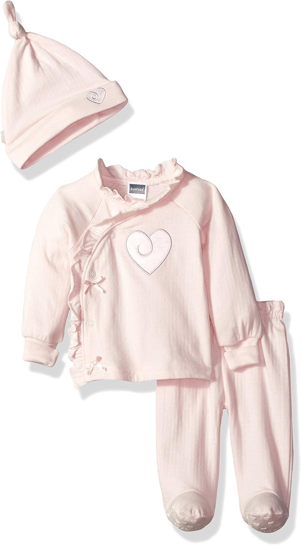 Kushies Baby Girls Classics Take Me Home Set Heart,
