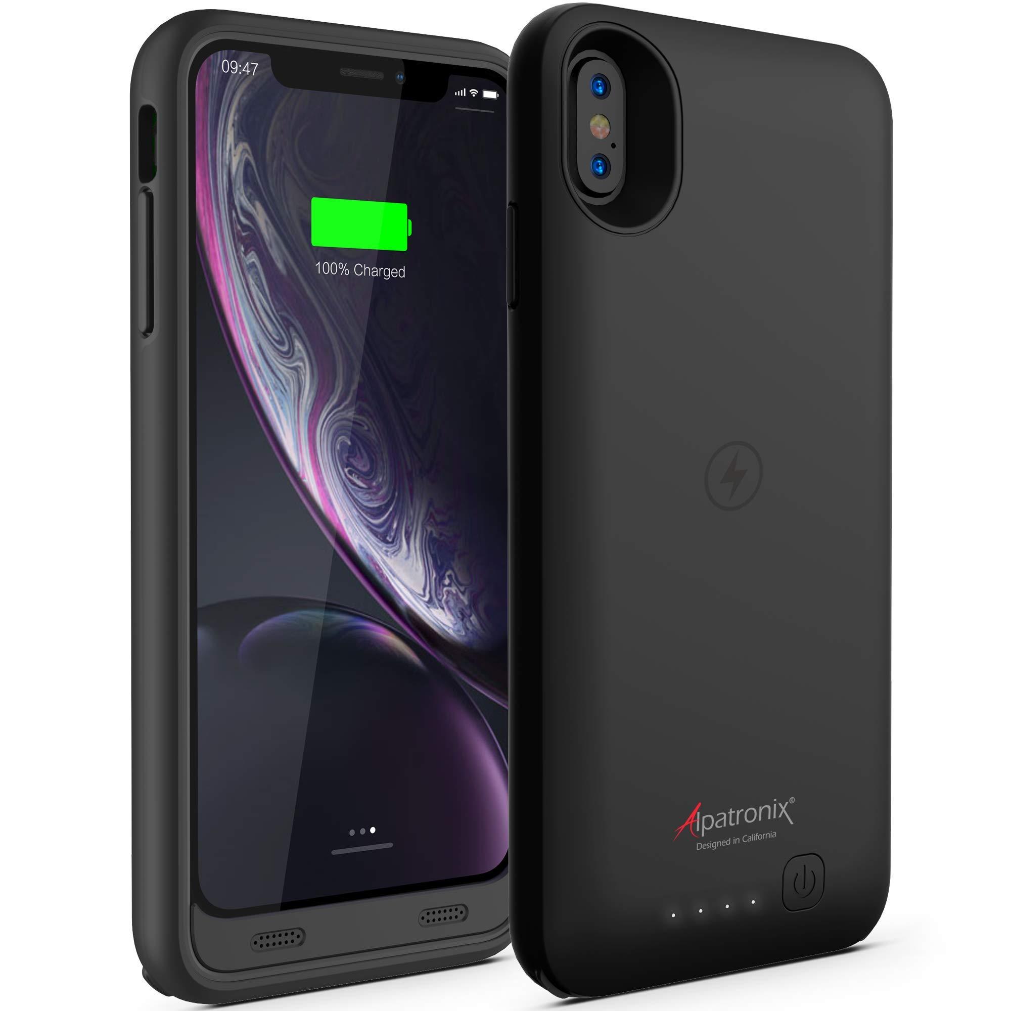 Funda Con Bateria de 3500mah para Apple Iphone Xr ALPATRONIX [7H832NW9]