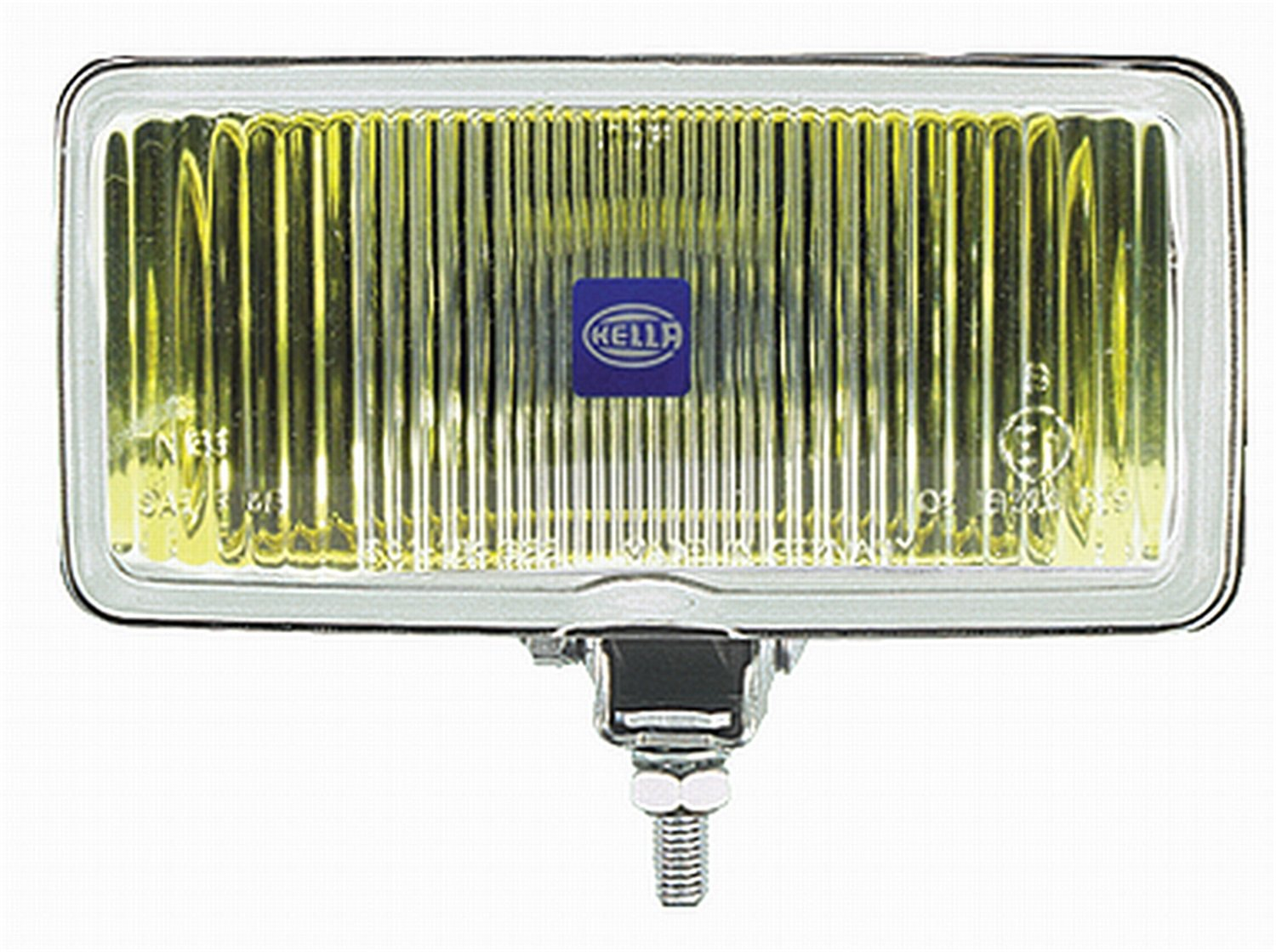 HELLA 005700021 550 Series 55 Watt 12-36 Heavy Duty H3 Type Amber Halogen Fog Lamp by HELLA