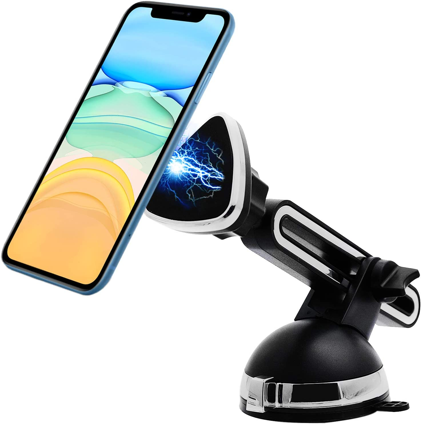 Soporte movil Coche Ventosa magnetico valido para telefonos ...