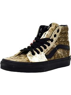 e1c91be1a2d Vans Womens Sk8-Hi - Velvet Velvet Low Top Lace Up Fashion Sneakers