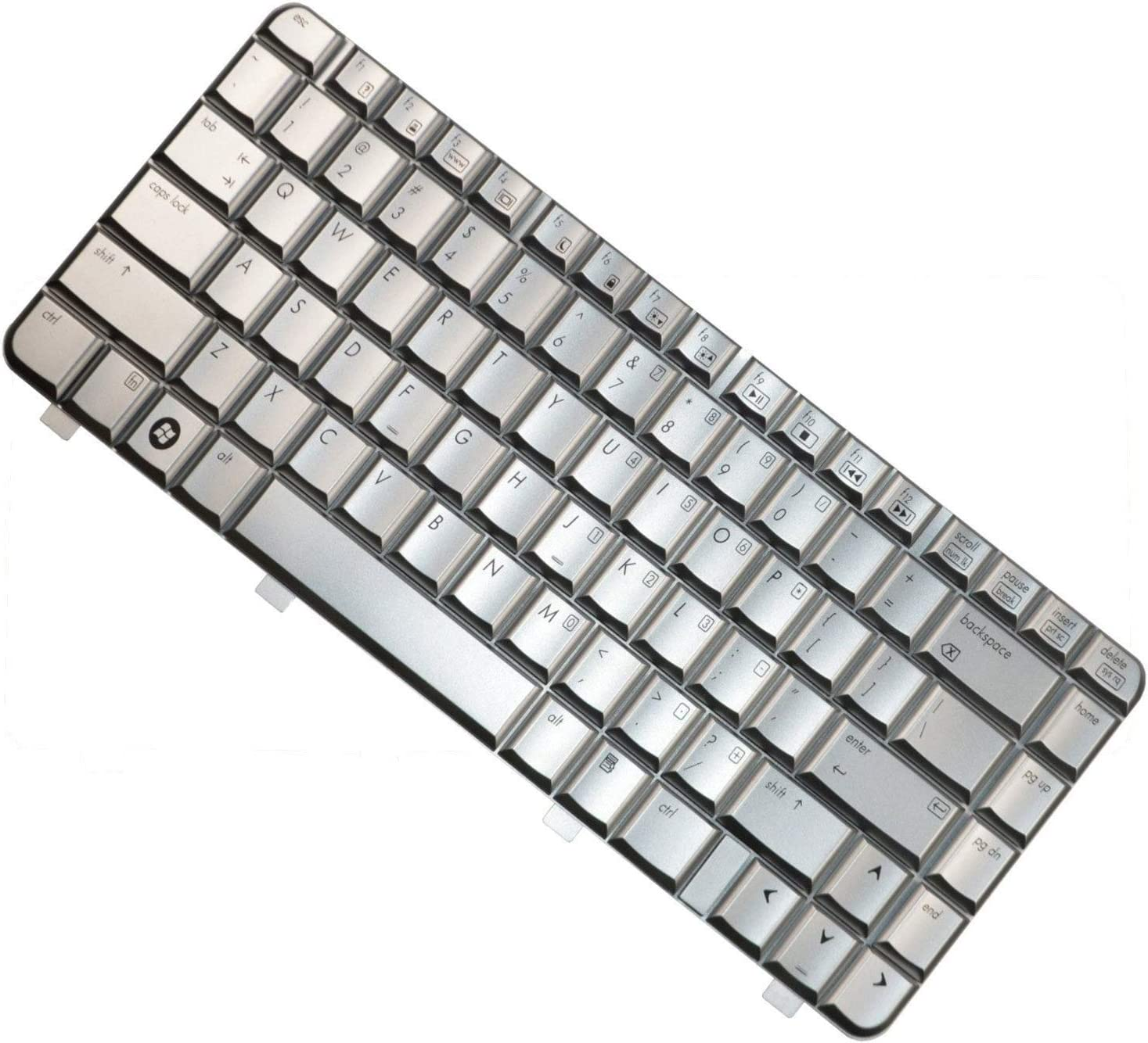 HQRP Keyboard Works with HP Pavilion DV4 Laptop/Notebook Replacement