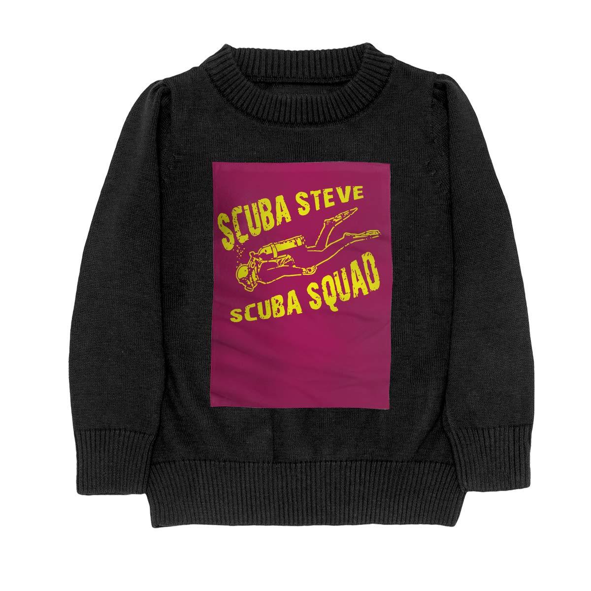 WWTBBJ-B Scuba Steve Scuba Squad Fashion Adolescent Boys Girls Unisex Sweater Keep Warm