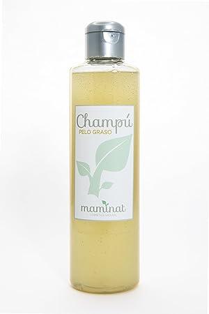 Mejor champú natural ✅ para pelo graso, sin sulfatos ni siliconas de romero, lavanda, ciprés y menta: Amazon.es: Belleza