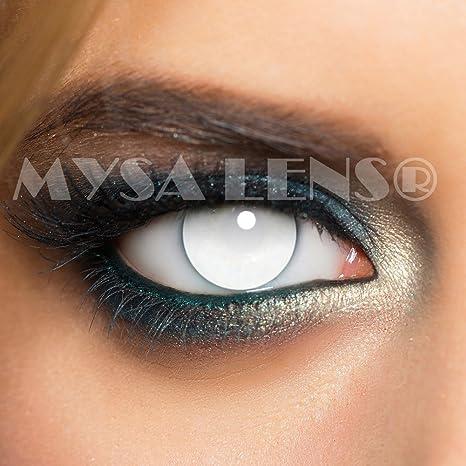 Lentilles de contact Aveugle Total Blind sans correction ...  Amazon ... e46d00b9db4a