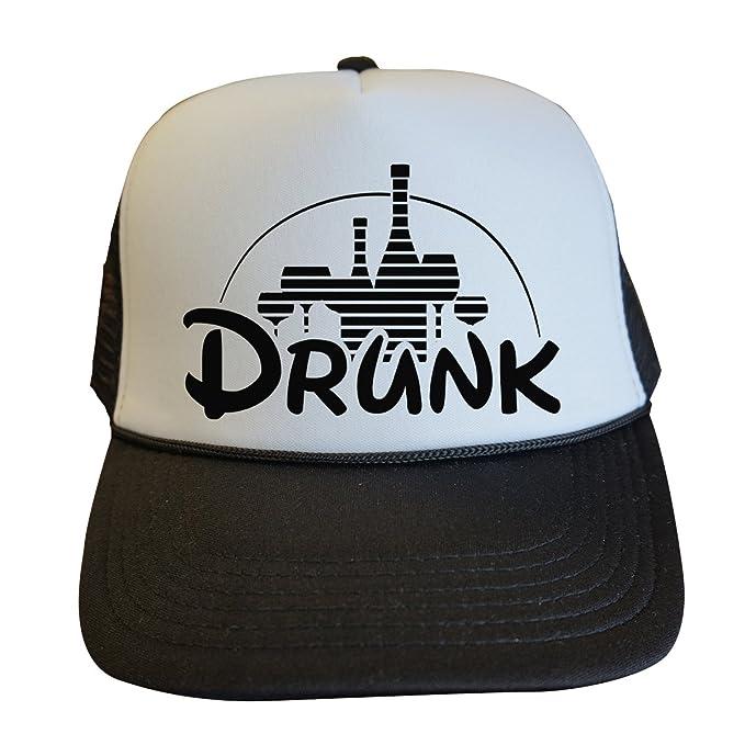 Cute Womens Vacation Trucker Hats  quot Drunk quot  - Royaltee Princess Hat  ... 70f109b3ea9