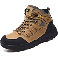 Topwolve Zapatillas de Senderismo para Hombre Zapatillas de Trekking Botas de Montaña Antideslizantes Al Aire Libre…